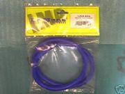 LMA Blue Silicone Vacuum Hose Tube Pipe 1 Metre Length 8mm Bore with clips